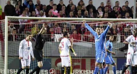 ريال مدريد يتراجع الى المركز الثالث بهزيمته امام اشبيلية