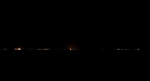 إنفجار ضخم يهز محيط مطار دمشق .. وأنباء عن قصف إسرائيلي