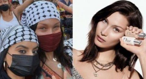 حقيقة فسخ تعاقد ديور مع بيلا حديد بسبب موقفها من القضية الفلسطينية