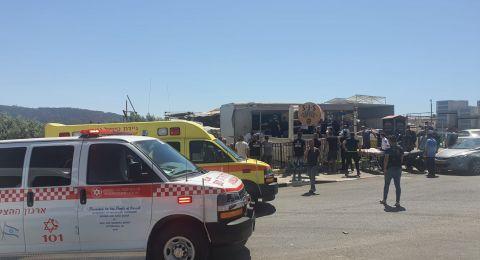 ساجور: انفجار عبوة يؤدي إلى اصابة بالغة لشاب 40 عامًا