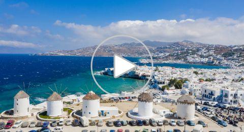 عيش الرفاهية في فنادق ميكونوس اليونانية