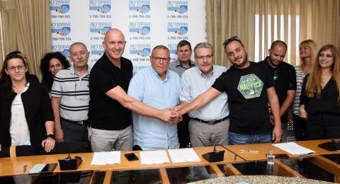 اتفاقية عمل جماعية في مجموعة حيفا للكيماويات بعد نضال منع اغلاق المصنع وتسريح العاملين فيه