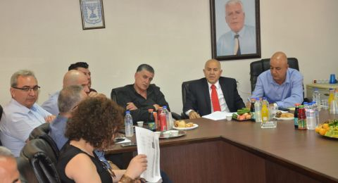 مدير عام وزارة التربية والتعليم يزور مجلس محلي الرينة ويلتقي مدراء المدارس