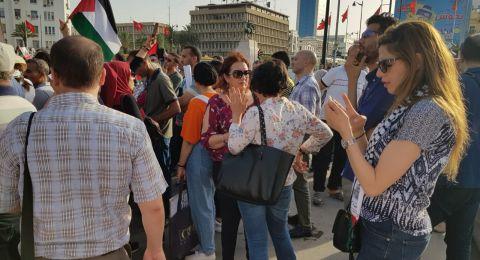 مظاهرات في المغرب رفضا لـ