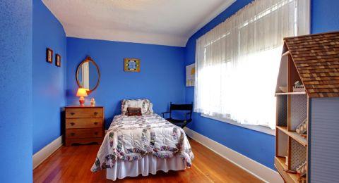 غرف نوم اطفال ضيقة في تصاميم ديكور ذكية
