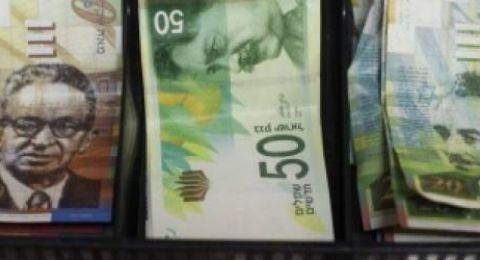 اسعار العملات: الدولار يهبط مقابل الشيقل