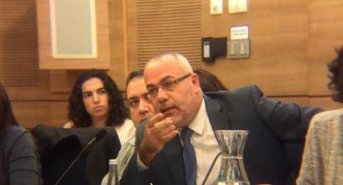 النائب أسامة سعدي يبرق رسالة للمستشار القضائي ويطالبه بالتدخل وإلغاء القرار العنصري لبلدية العفولة