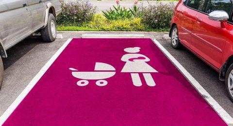 مواقف سيارات خاصة للنساء الحوامل-لفتة طيبة من رئيس بلدية ريشون لتسيون: