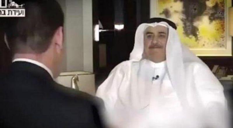 وزير خارجية البحرين في أول مقابلة له مع قناة إسرائيلية