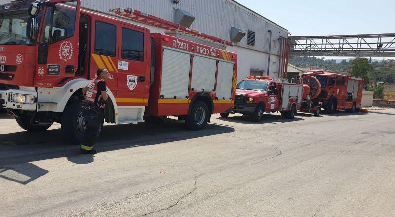 الناصرة: اندلاع حريق في منطقة مفتوحة بالقرب من كرم الصاحب