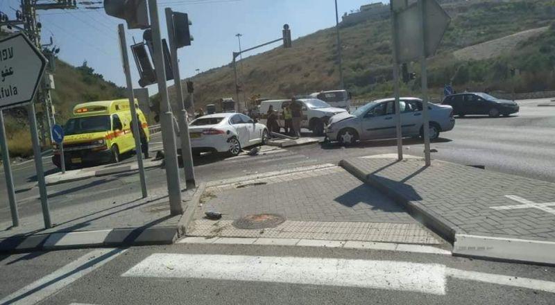 شارع 65: أزمة مروريّة خانقة بعد حادثيّ طرق قرب مشيرفة وبرطعة