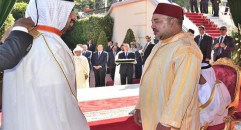 العاهل المغربي يقلّد الجسمي الوسام العلوي بدرجة