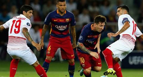 برشلونة يستهل رحلة الدفاع عن اللقب أمام ليفركوزن وروما وباتي