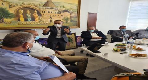 جامزو يزور بلدية الناصرة: باعتقادي يجب اغلاق المصالح التجارية!