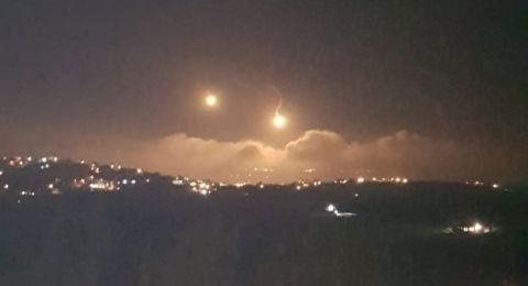 اثناء تواجد نتنياهو في صفد .. حدث أمني في الشمال وقصف اسرائيلي لمواقع لبنانية