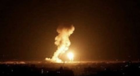 اسرائيل تقصف مواقعًا للمقاومة في غزة