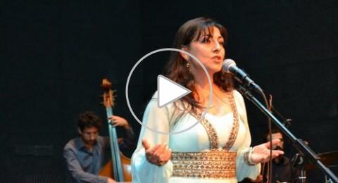 امل مرقص تتألق في حفل غنائي بيافة الناصرة