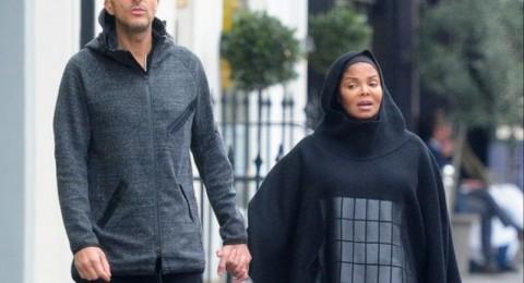 نجمة هوليود جانيت جاكسون تظهر متحجبة وحبلى بعد زواجها من قطري