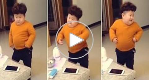 رقص كيم جونغ أون الصغير يذهل رواد الإنترنت