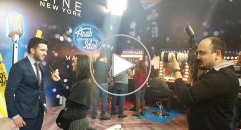 Arab Idol: هيثم خلايلة يغني ميادة الحناوي...ونانسي تقول له