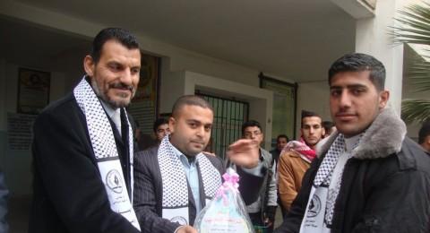 غزة: مهرجان الوفاء للأسرى والشهداء بيوم المعلم