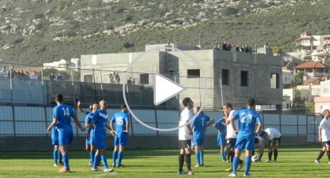 في مباراة القمة..كابول تسحق مجد الكروم بعقر دارها 3-0