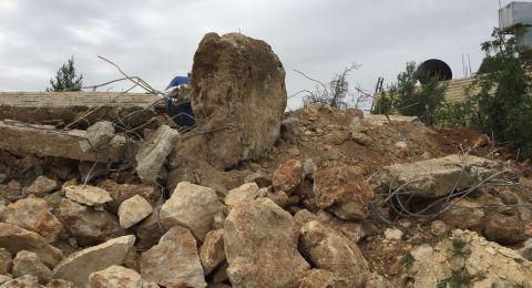 كم بيتًا ومنشأة فلسطينية هدمتها إسرائيل خلال 2018؟