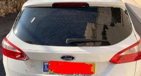 استمرار العنف في المجتمع العربي وإطلاق النيران نحو سيارة معلم من الناصرة!