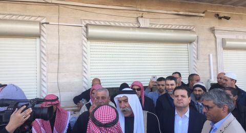 العراقيب: مسيرة تضامن مع الشيخ الطوري قبل دخوله الى سجن الرملة