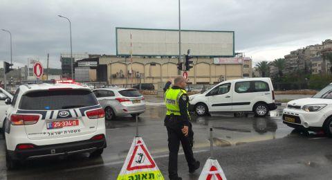 الشرطة تغلق