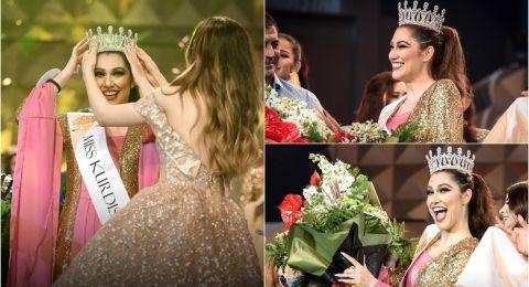 """سانا محمود"""" ملكة جمال كردستان العراق لعام 2018"""