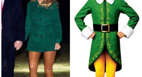 ثياب ميلانيا ترامب تثير ضجة في مواقع التواصل الاجتماعي