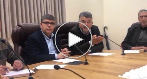 ام الفحم: انعقاد جلسة طارئة اثر الأوضاع الأخيرة واقرار لجنة لمتابعة الوضع