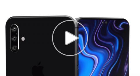 بتصميم جديد كليا.. فيديو يظهر هاتف آيفون القادم
