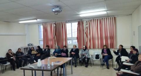 محاضرة عن الرشح والانفلونزا في نادي الاخوة النسائي