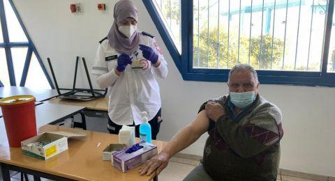 معليا: يوم تطعيمات ناجح من أعلى النسب في البلاد
