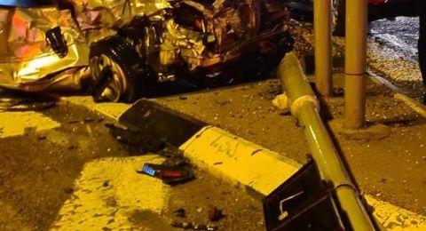ام الفحم: اصابات في حادث طرق على مفرق ميعامي