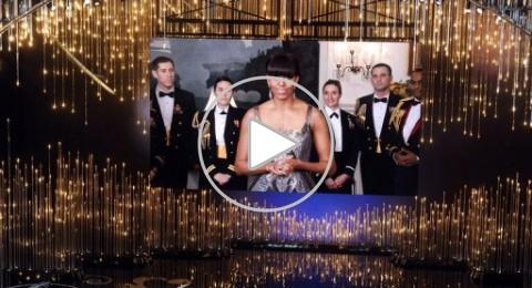 ميشال أوباما تعلن الفائز بأوسكار أفضل فيلم من البيت الأبيض