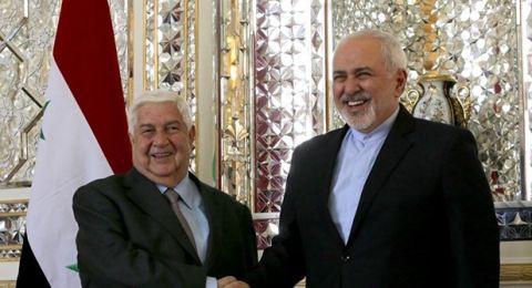 ظريف يتلقى دعوة من الأسد لزيارة دمشق