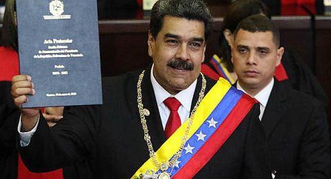 مادورو يعلن قطع العلاقات مع كولومبيا