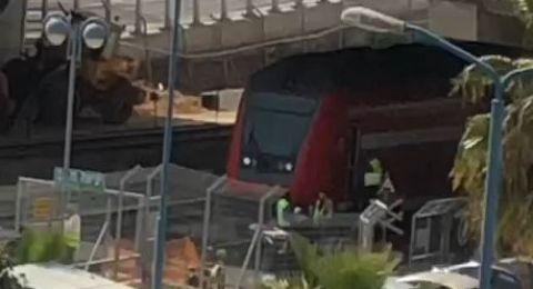 على سكة القطار .. إصابة حرجة لسيدة في مركز البلاد
