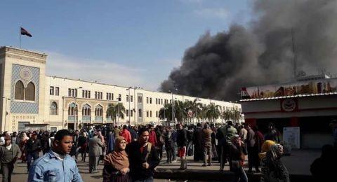 فيديو مروّع - ارتفاع عدد ضحايا حادث قاطرة محطة مصر