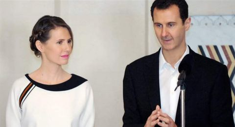 آخر ظهور لأسماء الأسد.. شاهدوا ماذا فعلت في ريف حمص!