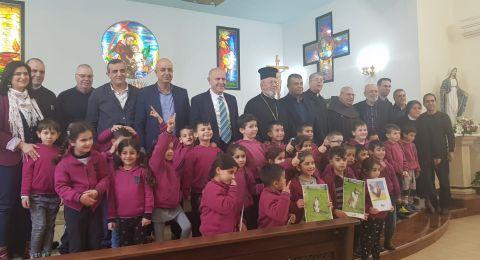 شموئيل ابواب يزور عددا من المدارس الكنائسيّة في شمال البلاد