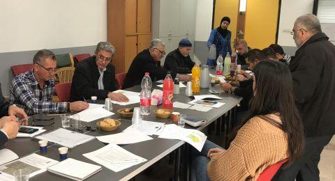 ورشة تخطيطية في قلنسوة بمشاركة المركز العربي للتخطيط البديل واللجنة الشعبية