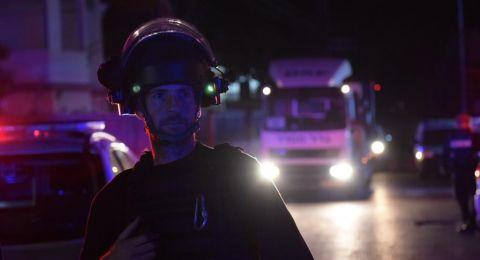 في اعقاب أحداث الأمس .. اعتقال 13 مشتبهًا