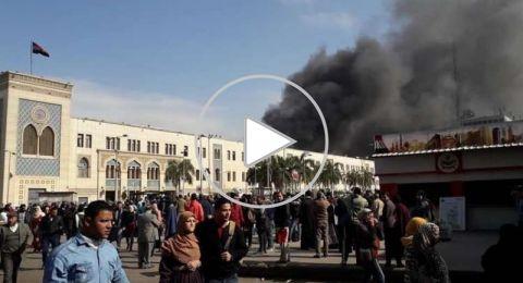 مصر: سائق القطار يروي تفاصيل الحادث