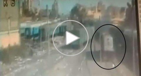 فيديو المشاجرة بين السائقين المتسببة في الحادث الكارثي داخل محطة مصر