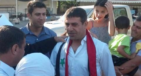 الجولان: اطلاق سراح الأسير المقت