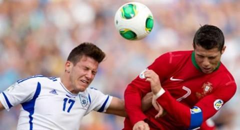 لماذا رفض رونالدو مبادلة قميصه مع أي لاعب إسرائيلي؟